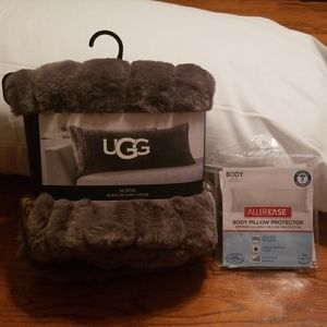 UGG Body Pillow w/Allergy Protector